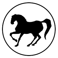 FreeBASIC Logo of a Horse Galloping